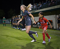 Stanford, CA - October 3, 2019: Abby Greubel at Laird Q Cagan Stadium. The Stanford Cardinal beat the Washington State Cougars 5-0.