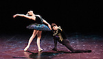 English National Ballet. Emerging Dancer competition 2013. Queen Elizabeth Hall. Guilherme Menezes, Laurretta Summerscales