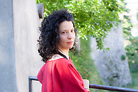 Elisa Albert (born July 2, 1978) is the author of the short story collection How this Night is Different (Free Press, 2006), the novels The Book of Dahlia (Free Press, 2008) and After Birth (Houghton Mifflin Harcourt, 2015), and an anthology, Freud's Blind Spot: Writers on Siblings (Free Press, 2010). Elisa Albert (1978) è cresciuta a Los Angeles e oggi vive, con la sua famiglia, nello stato di New York. Collabora con le pagine letterarie di prestigiose testate tra cui «The New York Times», «The Guardian», «Salon», «Time», «Commentary». Baby Blues è il suo terzo romanzo ed è stato considerato uno dei migliori dell'anno da «The Oprah Magazine», «People», «Publishers Lunch» ed «Electric Literature». Lecco, giovedì 8 giugno 2017. © Leonardo Cendamo