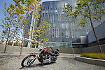 SAN DIEGO, CA - JULY 21:  A Harley Davidson Softtail  during the Harley Davidson Release test ride for Stern Magazine on July 21 in San Diego, California. (Photo by Donald Miralle) *** Local Caption *** Helmut Werb