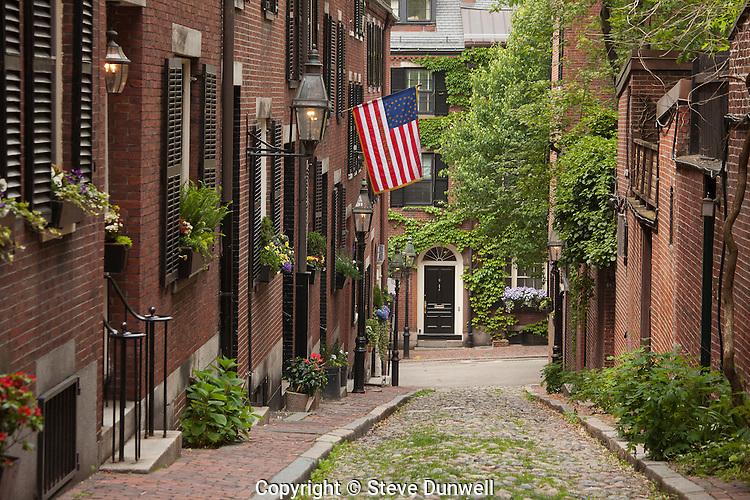 Acorn St., Beacon Hill, Boston, MA