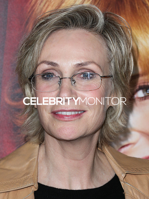 HOLLYWOOD, LOS ANGELES, CA, USA - NOVEMBER 05: Jane Lynch arrives at the Los Angeles Premiere Of HBO's 'The Comeback' held at the El Capitan Theatre on November 5, 2014 in Hollywood, Los Angeles, California, United States. (Photo by Xavier Collin/Celebrity Monitor)