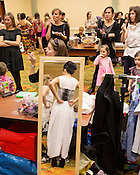 Backstage at Redress Raleigh, 5th Annual Eco-Fashion Show, Saturday, March 23, 2013.