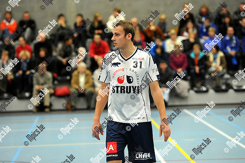 2012-12-08 / Korfbal / seizoen 2012-2013 / Boeckenberg / Nick Janssens..Foto: Mpics.be