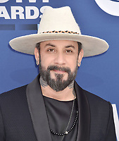 LAS VEGAS, CA - APRIL 07: AJ McLean attends the 54th Academy Of Country Music Awards at MGM Grand Hotel &amp; Casino on April 07, 2019 in Las Vegas, Nevada.<br /> CAP/ROT/TM<br /> &copy;TM/ROT/Capital Pictures