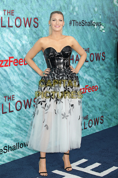 Blake Lively attends 'The Swallows' world premiere in Lincoln Square, New York, on 21 June 2016<br /> CAP/MPI99<br /> &copy;MPI99/Capital Pictures