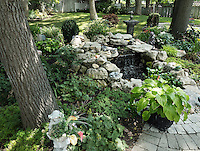 Dede Cook<br /> 1288 Kim St.  <br /> 519-542-7497<br /> dede.cook@ymail.com<br /> <br /> Backyard approximately 40by80 feet.  Lots of trees and shrubbery ,flowers around pond pretty well finished but a lot of foliage a lot of wicker and wrought iron and steps going up hill very peaceful  will have cushions in place and as ready as possible for you  hope you like it. <br /> Dede