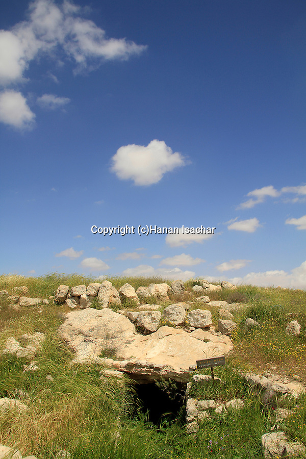 Southern Hebron Mountain, an ancient dwelling cave in Susya