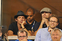 Leonardo Di Caprio<br /> New York Flushing Meadows 03-09-2013 Tennis Torneo US Open Grande Slam.<br /> Photo Antoine Couvercelle / Panoramic / Insidefoto<br /> ITALY ONLY