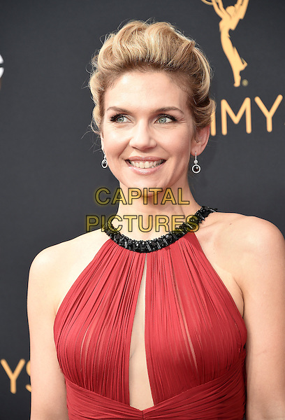 LOS ANGELES, CA - SEPTEMBER 18: Rhea Seehorn arrives at the 68th Emmy Awards at the Microsoft Theater on Sunday, September 18, 2016, in Los Angeles, California. <br /> CAP/MPI99<br /> &copy;MPI99/Capital Pictures