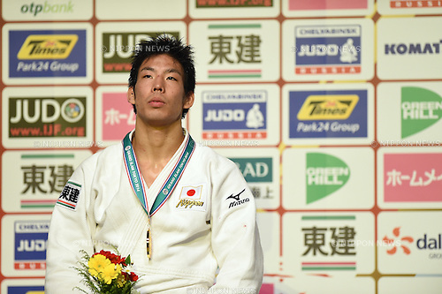Takanori Nagase (JPN), <br /> DECEMBER 6, 2014 - Judo : <br /> IJF Grand Slam Tokyo 2014 International Judo Tournament <br /> Men's -81kg award ceremony <br /> at Tokyo Metropolitan Gymnasium, Tokyo, Japan. <br /> (Photo by AFLO SPORT) [1220]