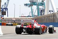 23.06.2012. Valencia, Spain. FIA Formula One World Championship 2012 Grand Prix of Europe Qualifying Session. Fernando Alonso (Spanish driver of Ferrari).