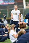 3 December 2006: Notre Dame's Jill Krivacek. The University of North Carolina Tarheels defeated the University of Notre Dame Fighting Irish 2-1 at SAS Stadium in Cary, North Carolina in the NCAA Division I Women's College Cup championship game.