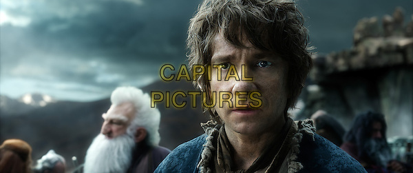 Ken Stott, Martin Freeman<br /> in The Hobbit: The Battle of the Five Armies (2014) <br /> *Filmstill - Editorial Use Only*<br /> CAP/NFS<br /> Image supplied by Capital Pictures
