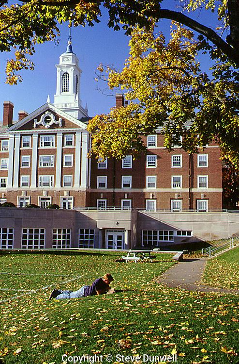 Quad campus, Harvard, Cambridge, MA autumn