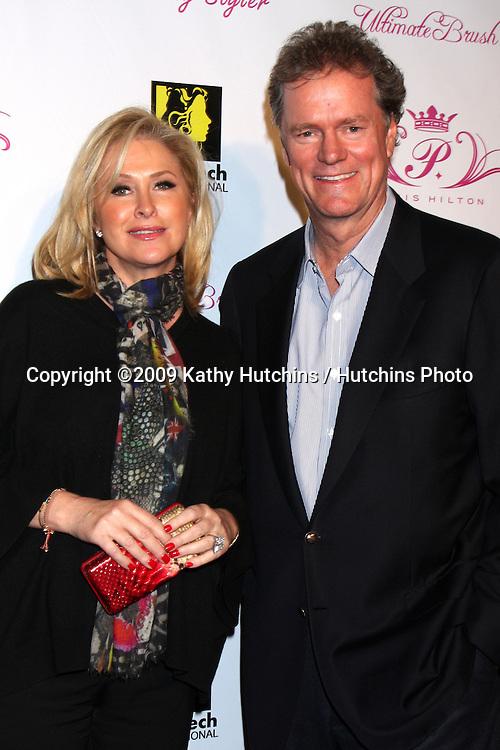 Kathy & Rick Hilton.arriving at the Paris Hilton Beauty Line Launch Party.Thompson Hotel.Beverly Hills,  CA.November 17, 2009.©2009 Kathy Hutchins / Hutchins Photo.