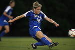 24 September 2009: Duke's Maddy Haller. The University of North Carolina Tar Heels defeated the Duke University Blue Devils 2-1 in sudden victory overtime at Fetzer Field in Chapel Hill, North Carolina in an NCAA Division I Women's college soccer game.