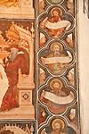 Church of St. Anastasia, detail of a fresco