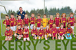St. Senan's U-10: Taking part in the St. Senan's U-10 football blitz in Mountcoal on Sunday were the Duagh team. Front : Michael Kirby, Cillia Buckley, Justin Cotter, Ally Buckley, Sean Og Scanlon, Michael keane, Michael Tony, Tom McCArthy & Amandi Tony. Back : Evan Corridon, Michael Daly, Shane Flynn, John Cotter, Trainer, Donnacha Maher, Sean dillon, Owen Mahony, Ted Moloney, Ella Morris, Tom O'Connor, Caitlin Flynn & Robbie Rotary.