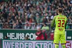 15.04.2018, Weser Stadion, Bremen, GER, 1.FBL, Werder Bremen vs RB Leibzig, im Bild<br /> <br /> P&eacute;ter Gul&aacute;csi / Peter Gulacsi (RB Leipzig #32)<br /> <br /> Foto &copy; nordphoto / Kokenge
