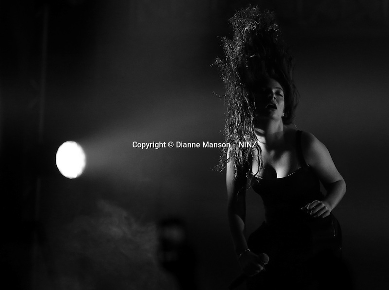 Lorde in concert at the Town Hall in Dunedin, New Zealand, Wednesday, October 29, 2014. Credit:NINZ / Dianne Manson