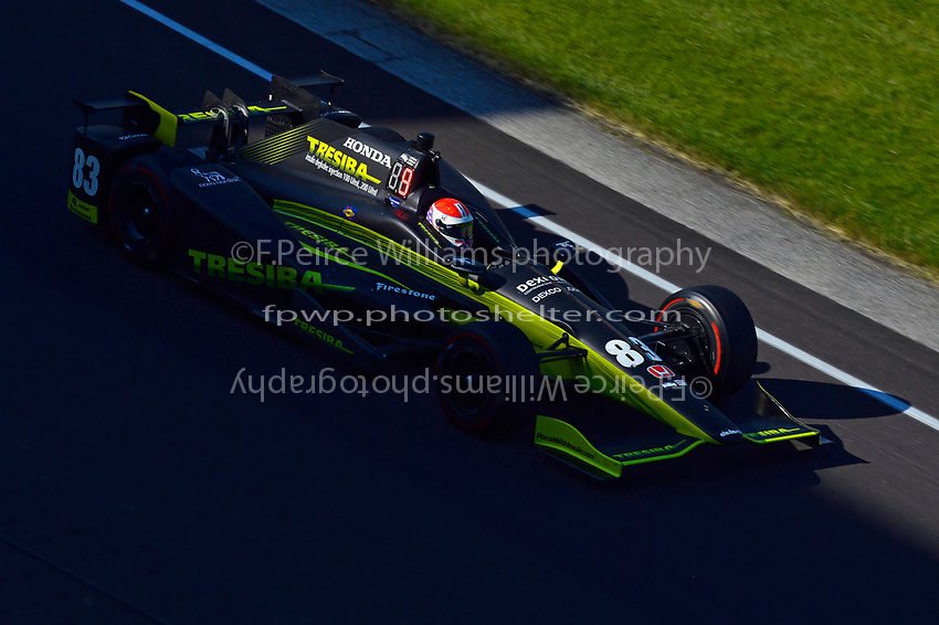Verizon IndyCar Series<br /> Indianapolis 500 Practice<br /> Indianapolis Motor Speedway, Indianapolis, IN USA<br /> Monday 15 May 2017<br /> Charlie Kimball, Chip Ganassi Racing Teams Honda<br /> World Copyright: F. Peirce Williams