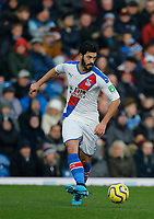 30th November 2019; Turf Moor, Burnley, Lanchashire, England; English Premier League Football, Burnley versus Crystal Palace; James Tomkins of Crystal Palace - Strictly Editorial Use Only. No use with unauthorized audio, video, data, fixture lists, club/league logos or 'live' services. Online in-match use limited to 120 images, no video emulation. No use in betting, games or single club/league/player publications