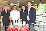 Pictured at a promotion for MooGoo skin care range at Ashe Street Pharmacy, Tralee on Thursday, Siobhan Whyte, Paul Casserly (MooGoo Ireland), Jane Kerrisk, Michael Reilly.