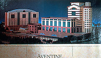 Michael Graves: Aventine Hyatt Regency, San Diego. Advertisement 1989.
