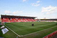 A general view of Sincil Bank, home of Lincoln City FC<br /> <br /> Photographer Chris Vaughan/CameraSport<br /> <br /> The EFL Sky Bet League Two - Lincoln City v Stevenage - Saturday 16th February 2019 - Sincil Bank - Lincoln<br /> <br /> World Copyright © 2019 CameraSport. All rights reserved. 43 Linden Ave. Countesthorpe. Leicester. England. LE8 5PG - Tel: +44 (0) 116 277 4147 - admin@camerasport.com - www.camerasport.com