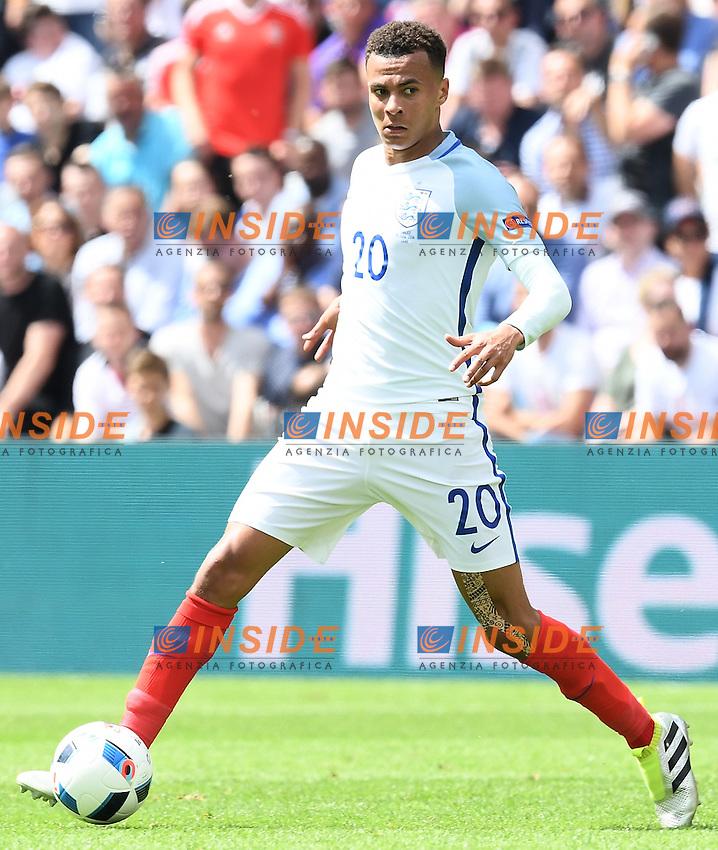 Dele Alli <br /> Lens 16-06-2016 Stade Bollaert-Delelis Footballl Euro2016 England - Wales / Inghilterra - Galles Group Stage Group B. Foto Matteo Gribaudi / Image Sport / Insidefoto
