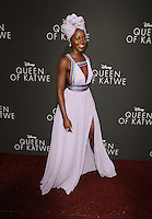 "20 September 2016 - Hollywood, California - Lupita Nyong'o. ""Queen Of Katwe"" Los Angeles Premiere held at the El Capitan Theater in Hollywood. Photo Credit: AdMedia"