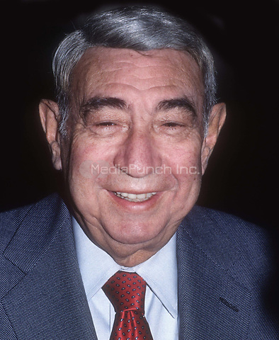 Howard Cosell 1991<br /> Photo By John Barrett/PHOTOlink.net / MediaPunch