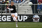 06 December 2009: Stanford's Morgan Redman. The University of North Carolina Tar Heels defeated the Stanford University Cardinal 1-0 at Aggie Soccer Stadium in College Station, Texas in the NCAA Division I Women's College Cup Championship game.