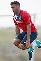 Getafe CF's Bruno Gonzalez during training session. August 1,2017.(ALTERPHOTOS/Acero) /NortePhoto.com