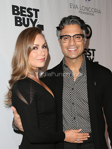 LOS ANGELES, CA - NOVEMBER 8: Jaime Camil, Heidi Balvanera, at the Eva Longoria Foundation Dinner Gala honoring Zoe Saldana and Gina Rodriguez at The Four Seasons Beverly Hills in Los Angeles, California on November 8, 2018. Credit: Faye Sadou/MediaPunch