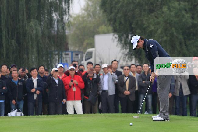 Rory McIlroy (NIR) at the Duel at Jinsha Lake, Golf Challenge between Rory McIlroy (NIR) and Tiger Woods (USA) at Jinsha Lake Golf Club, Zhengzhou, China, 29/10/12...(Photo www.golffile.ie)