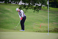 Ha Na Jang (KOR) chips on to 8 during round 2 of  the Volunteers of America Texas Shootout Presented by JTBC, at the Las Colinas Country Club in Irving, Texas, USA. 4/28/2017.<br /> Picture: Golffile   Ken Murray<br /> <br /> <br /> All photo usage must carry mandatory copyright credit (&copy; Golffile   Ken Murray)