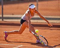 Netherlands, Rotterdam August 07, 2015, Tennis,  National Junior Championships, NJK, TV Victoria, Gigi Sy-A-Foeck<br /> Photo: Tennisimages/Henk Koster