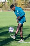 07.11.2018, Trainingsgelaende, Bremen, GER, RL Nord, Training Werder Bremen II<br /> <br /> im Bild<br /> Emmanuel Iwe am Ball, <br /> <br /> Foto &copy; nordphoto / Ewert