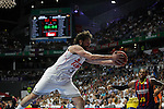 Real Madrid´s Sergio Llull during Liga Endesa Final first match at Palacio de los Deportes in Madrid, Spain. June 19, 2015. (ALTERPHOTOS/Victor Blanco)