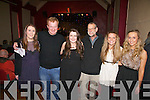Attending and performing at Iseult Ring's Concert for Haiti at the Cahersiveen Community Centre on Friday night last were l-r; Chloe O'Sullivan, Cormac Dineen, Iseult Ring, Jan Dykstra, Sarah Louise O'Connell & Emma O'Shea.