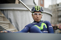 Nairo Quintana (COL/Movistar) before the race<br /> <br /> 101th Liège-Bastogne-Liège 2015