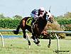 Rose Brier winning at Delaware Park on 9/23/13