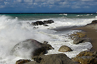 Küste beim Capo d'Orlando, Sizilien, Italien