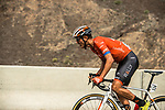 Adam de Vos (CAN) Rally-UHC from the breakaway during Stage 6 of the 10th Tour of Oman 2019, running 135.5km from Al Mouj Muscat to Matrah Corniche, Oman. 21st February 2019.<br /> Picture: ASO/K&aring;re Dehlie Thorstad | Cyclefile<br /> All photos usage must carry mandatory copyright credit (&copy; Cyclefile | ASO/K&aring;re Dehlie Thorstad)
