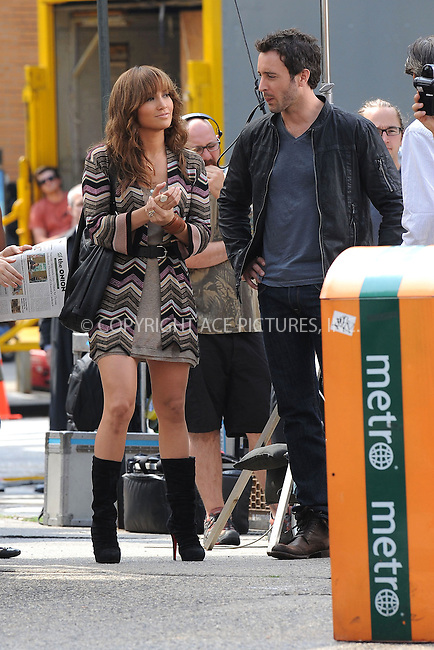 """WWW.ACEPIXS.COM . . . . . ....July 16 2009, New York City....Actors Jennifer Lopez and Alex O'Loughlin on the set of the new movie """"The Back-Up Plan"""" in Downtown Manhattan on July 16, 2009 in New York City.....Please byline: KRISTIN CALLAHAN - ACEPIXS.COM.. . . . . . ..Ace Pictures, Inc:  ..tel: (212) 243 8787 or (646) 769 0430..e-mail: info@acepixs.com..web: http://www.acepixs.com"""