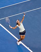 Li Na (CHN) (9) against Kim Clijsters (BEL) (3) in the Finals of the women's singles. Kim Clijsters beat Li Na 3-6 6-3 6-3..International Tennis - Australian Open  -  Melbourne Park - Melbourne - Day 13 - Sat 29th January 2011..© Frey - AMN Images, Level 1, Barry House, 20-22 Worple Road, London, SW19 4DH.Tel - +44 208 947 0100.Email - Mfrey@advantagemedianet.com.Web - www.amnimages.photshelter.com