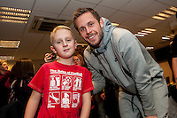 Tuesday  15 December 2015<br /> Pictured: Gylfi Sigurdsson<br /> Re: Kids SCFC Christmas Party at the Liberty Stadium, Swansea