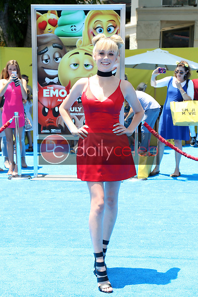 "DeVore Ledridge<br /> at the premiere of ""The Emoji Movie,"" Village Theater, Westwood, CA 07-23-17<br /> David Edwards/DailyCeleb.com 818-249-4998"